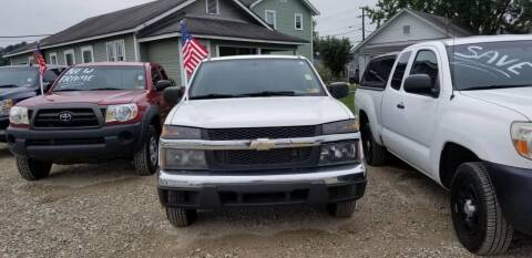 2007 Chevrolet Colorado for sale at Sissonville Used Cars in Charleston WV