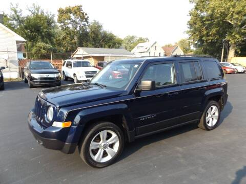 2013 Jeep Patriot for sale at Goodman Auto Sales in Lima OH