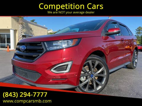 2015 Ford Edge for sale at Competition Cars in Myrtle Beach SC
