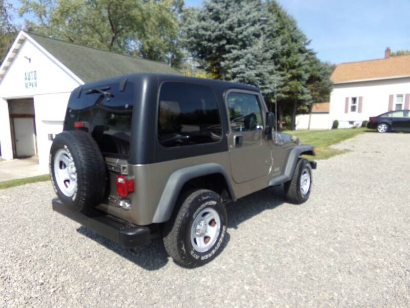 2004 Jeep Wrangler Sport for sale at English Autos in Grove City PA