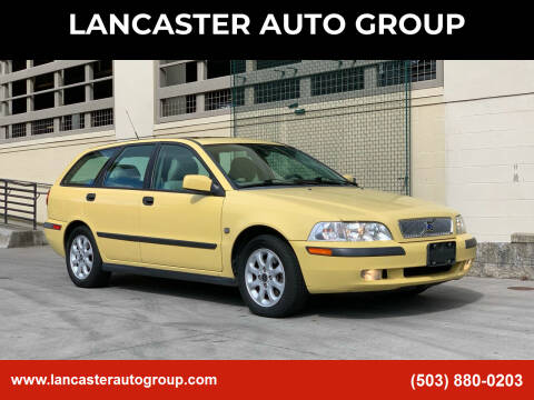 2001 Volvo V40 for sale at LANCASTER AUTO GROUP in Portland OR