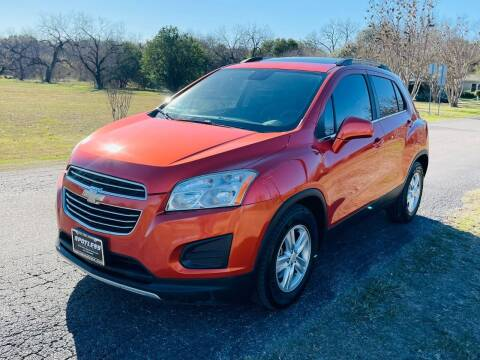 2015 Chevrolet Trax for sale at SPOTLESS AUTO LLC in San Antonio TX