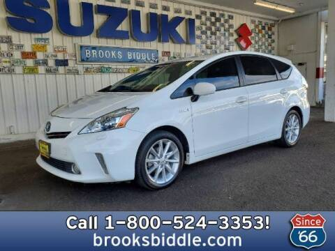 2012 Toyota Prius v for sale at BROOKS BIDDLE AUTOMOTIVE in Bothell WA