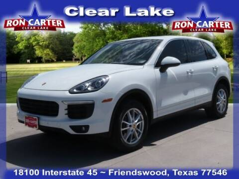 2016 Porsche Cayenne for sale at Ron Carter  Clear Lake Used Cars in Houston TX