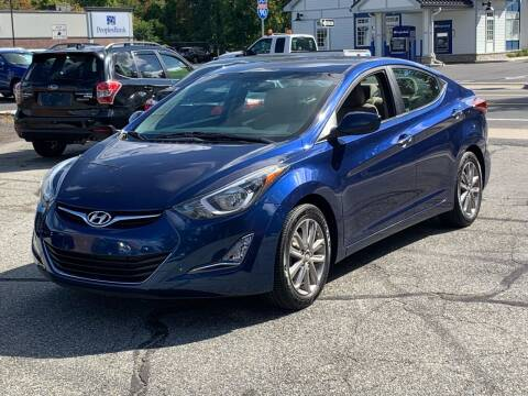 2016 Hyundai Elantra for sale at Ludlow Auto Sales in Ludlow MA