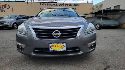 2015 Nissan Altima for sale at El Guero Auto Sale in Hawthorne CA