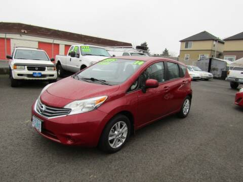 2014 Nissan Versa Note for sale at ARISTA CAR COMPANY LLC in Portland OR