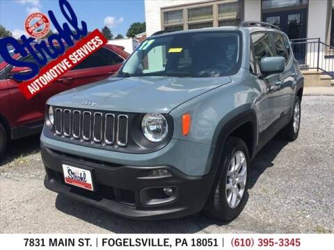 2017 Jeep Renegade for sale at Strohl Automotive Services in Fogelsville PA