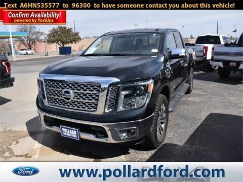 2017 Nissan Titan for sale at South Plains Autoplex by RANDY BUCHANAN in Lubbock TX