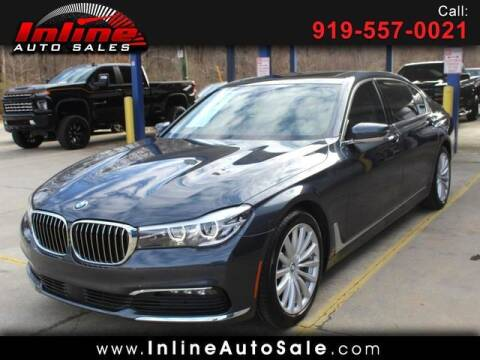 2016 BMW 7 Series for sale at Inline Auto Sales in Fuquay Varina NC