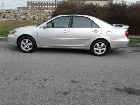 2004 Toyota Camry for sale at Nelsons Auto Specialists in New Bedford MA