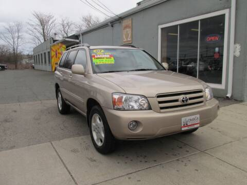 2007 Toyota Highlander for sale at Omega Auto & Truck Center, Inc. in Salem MA