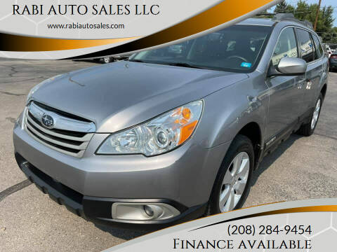 2010 Subaru Outback for sale at RABI AUTO SALES LLC in Garden City ID