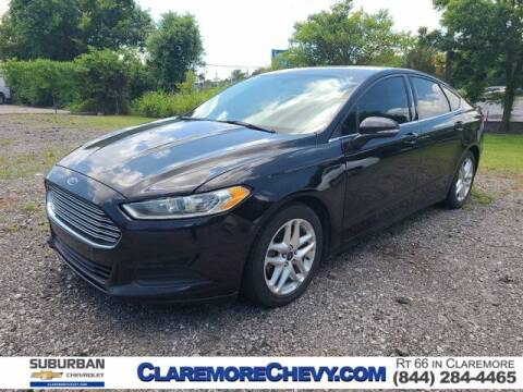 2013 Ford Fusion for sale at Suburban Chevrolet in Claremore OK