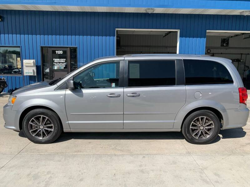 2017 Dodge Grand Caravan for sale at Twin City Motors in Grand Forks ND