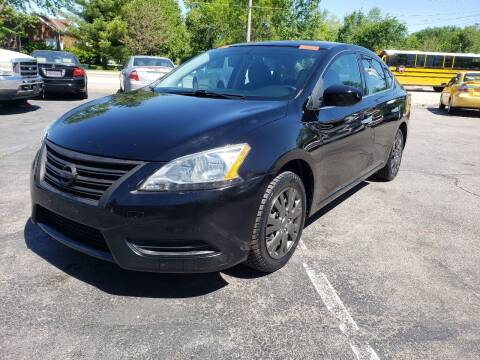 2015 Nissan Sentra for sale at Auto Choice in Belton MO