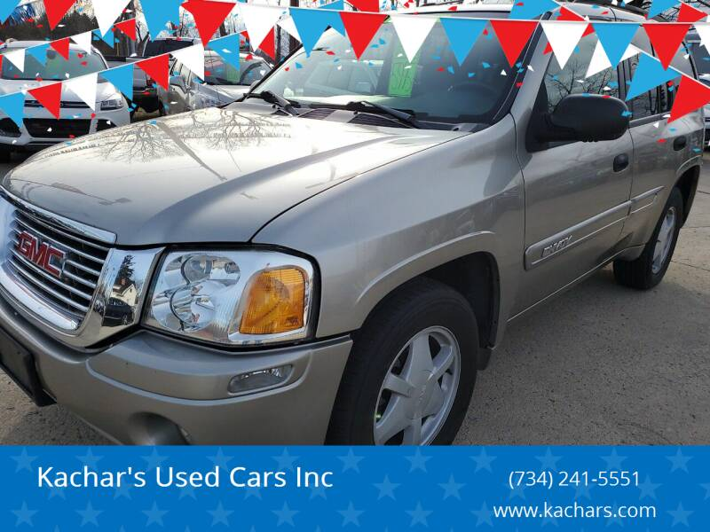 2003 GMC Envoy for sale at Kachar's Used Cars Inc in Monroe MI