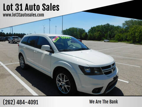 2015 Dodge Journey for sale at Lot 31 Auto Sales in Kenosha WI