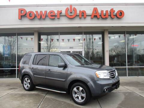 2013 Honda Pilot for sale at Power On Auto LLC in Monroe NC