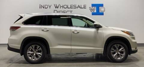 2015 Toyota Highlander for sale at Indy Wholesale Direct in Carmel IN