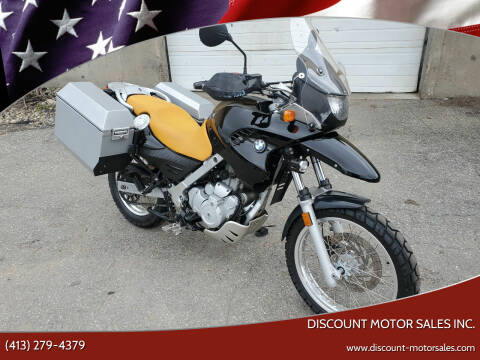 2002 BMW F650GS for sale at Discount Motor Sales inc. in Ludlow MA