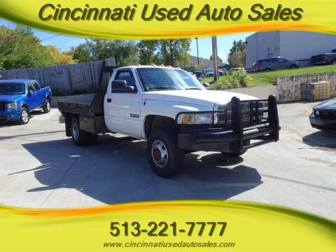 2001 Dodge Ram Chassis 3500 for sale at Cincinnati Used Auto Sales in Cincinnati OH