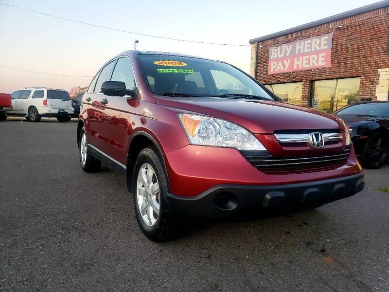 2008 Honda CR-V for sale at AUTO BARGAIN, INC. #2 in Oklahoma City OK