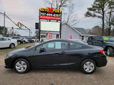 2013 Honda Civic for sale at Autoxport in Newport News VA