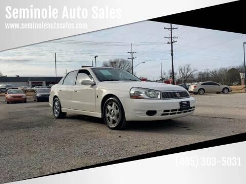 2005 Saturn L300 for sale at Seminole Auto Sales in Seminole OK