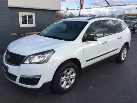2016 Chevrolet Traverse for sale at ROUTE 6 AUTOMAX in Markham IL