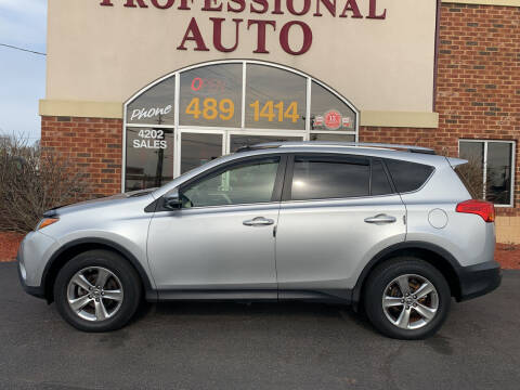 2015 Toyota RAV4 for sale at Professional Auto Sales & Service in Fort Wayne IN