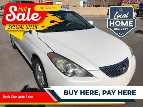 2006 Toyota Camry Solara for sale at Rock Star Auto Sales in Las Vegas NV