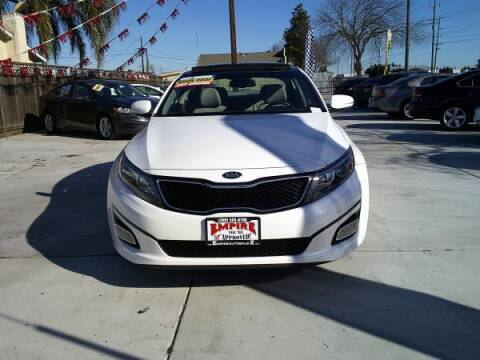 2015 Kia Optima for sale at Empire Auto Sales in Modesto CA