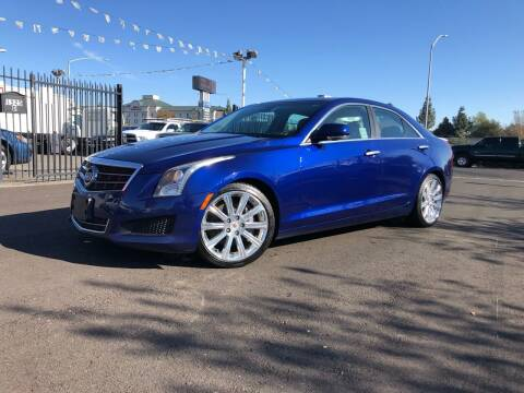2014 Cadillac ATS for sale at BOARDWALK MOTOR COMPANY in Fairfield CA