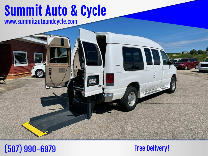 2007 Ford E-Series Chassis for sale at Summit Auto & Cycle in Zumbrota MN