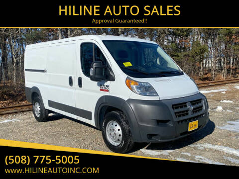 2014 RAM ProMaster Cargo for sale at HILINE AUTO SALES in Hyannis MA