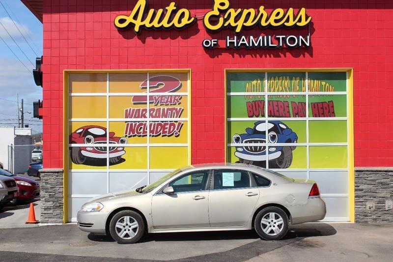 2009 Chevrolet Impala for sale at AUTO EXPRESS OF HAMILTON LLC in Hamilton OH