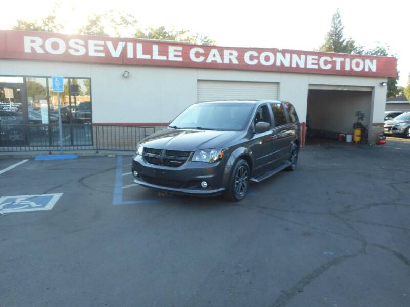 2016 Dodge Grand Caravan for sale at ROSEVILLE CAR CONNECTION in Roseville CA