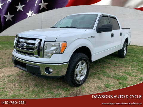 2012 Ford F-150 for sale at Dawsons Auto & Cycle in Glen Burnie MD