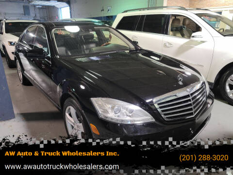2011 Mercedes-Benz S-Class for sale at AW Auto & Truck Wholesalers  Inc. in Hasbrouck Heights NJ