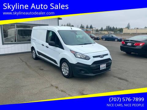 2017 Ford Transit Connect Cargo for sale at Skyline Auto Sales in Santa Rosa CA