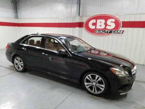 2014 Mercedes-Benz E-Class for sale at CBS Quality Cars in Durham NC