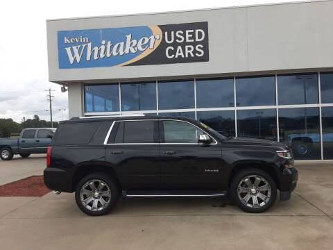 2017 Chevrolet Tahoe for sale at Kevin Whitaker Used Cars in Travelers Rest SC
