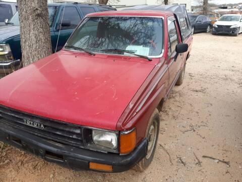 1988 Toyota Pickup for sale at KK Motors Inc in Graham TX