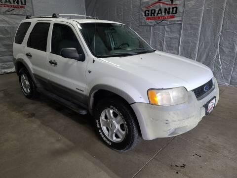 2001 Ford Escape for sale at GRAND AUTO SALES in Grand Island NE