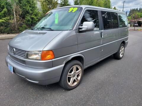 1999 Volkswagen EuroVan for sale at TOP Auto BROKERS LLC in Vancouver WA
