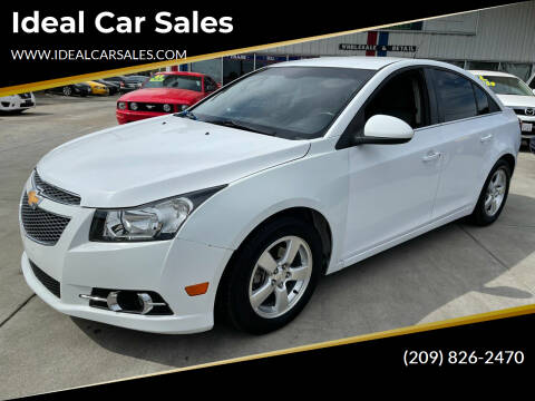 2012 Chevrolet Cruze for sale at Ideal Car Sales in Los Banos CA