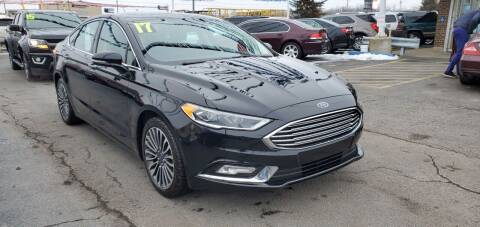 2017 Ford Fusion for sale at I-80 Auto Sales in Hazel Crest IL