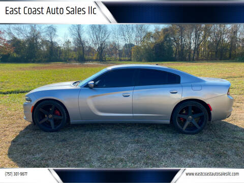 2015 Dodge Charger for sale at East Coast Auto Sales llc in Virginia Beach VA