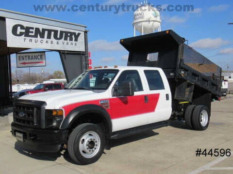 2009 Ford F-550 Super Duty for sale at CENTURY TRUCKS & VANS in Grand Prairie TX